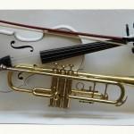 Violon &trompette pied N°3(table en préparation)